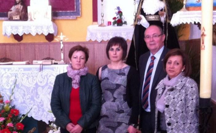 Alcalde y concejales del Equipo de Gobierno acompañan a los vecinos de Belerda en el inicio de sus fiestas patronales