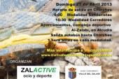 Gran afluencia de corredores en los primeros 20 km del valle del Zalabí