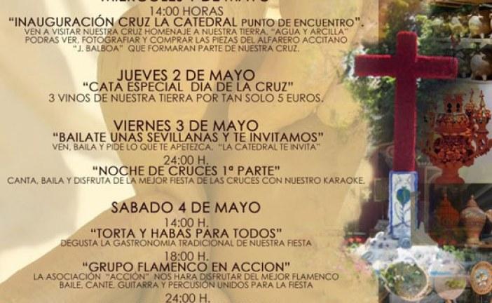 """CRUZ DE MAYO """"LA CATEDRAL PUNTO DE ENCUENTRO"""" Guadix – del 1 al 5 de mayo"""