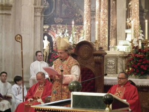 HOMILA EN LA MISA PONTIFICAL DE LA SOLEMNIDAD DE SAN TORCUATO, OBISPO Y MRTIR PATRONO DE LA DICESIS