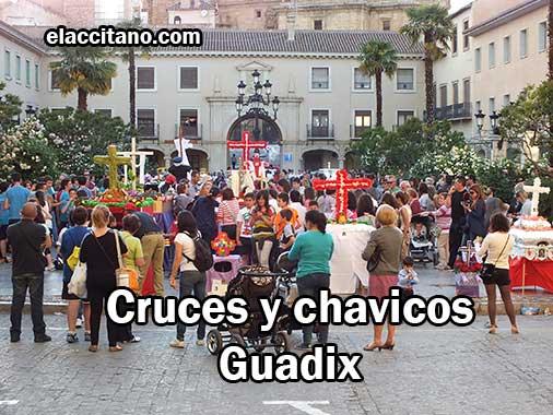 Cruces de Mayo y chavicos de Guadix