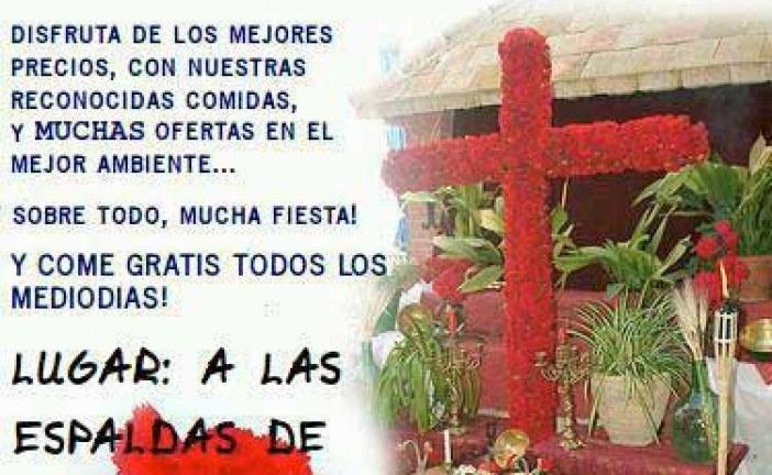 Cruz de Mayo de la hermandad de La Borriquilla – 3 al 5 de Mayo
