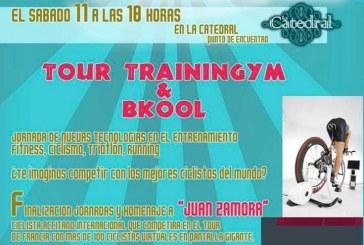 "QBody presenta ""Tour trainingym & Bkool"" + Homenaje a Juan Zamora en la catedral punto de encuentro – 11 de Mayo"