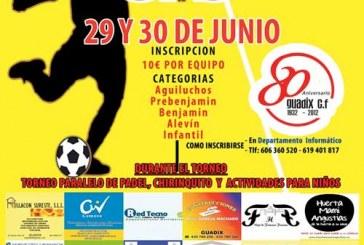 Torneo de fútbol 3×3 con motivo del 80 aniversario del Guadix C.F.