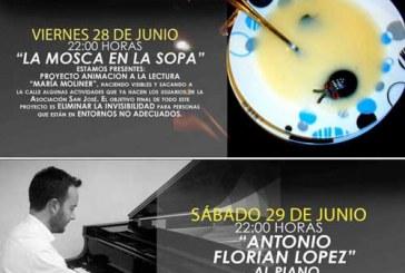La mosca en la sopa y Antonio Florian López en la catedral punto de encuentro