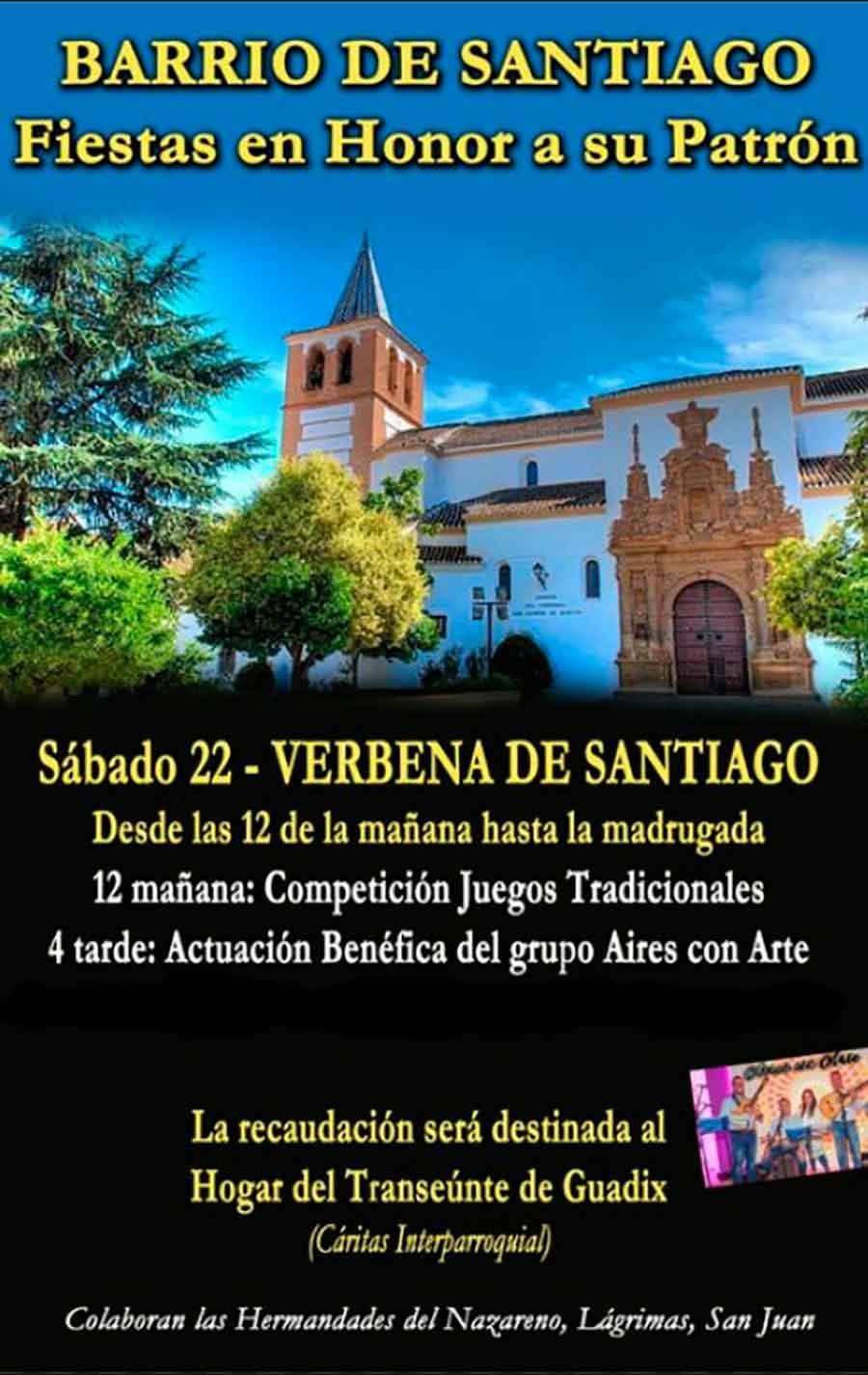 Fiestas en honor a Santiago apostol en Guadix