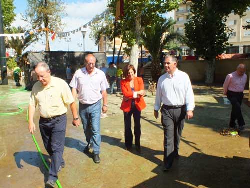 Inundaciones Feria de Guadix