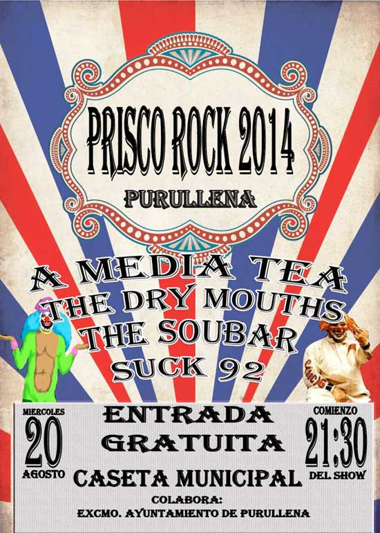 Prisco Rock 2014 en Purullena