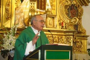 Emotiva despedida a  Salvador Olivares en la parroquia de San Juan de Baza