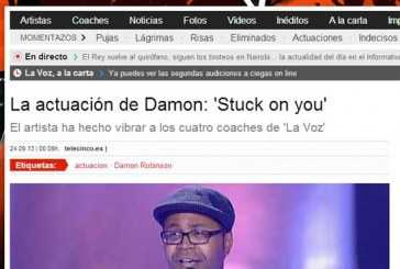 [Vídeo] Damon consigue el pleno en el programa La Voz de Telecinco y formará parte del equipo de Antonio Orozco