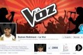 Damon a punto de conseguir los 3.000 fans en su perfil de La Voz en Facebook #TodosConDamon @DamonRLaVoz