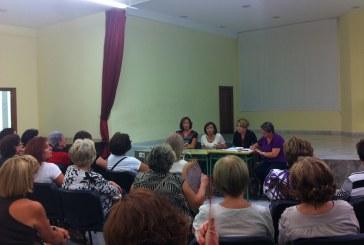 La concejala de Mujer y Políticas de Igualdad acompaña a la Asociación de Mujeres Acci en el arranque del nuevo curso