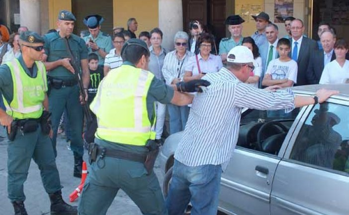 Prevención y mejora de la seguridad, palabras clave en el Plan Mayor Seguridad presentado hoy en Guadix
