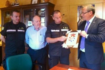 El Teniente Coronel de la UME destaca en una reunión con el alcalde de Guadix la buena acogida que ha tenido la unidad en la ciudad