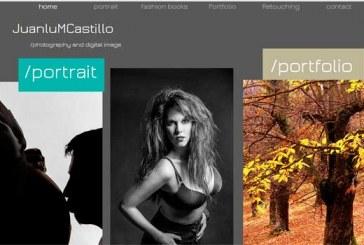 Mari Ángeles la modelo accitana imagen de la nueva web de Juanlu M Castillo
