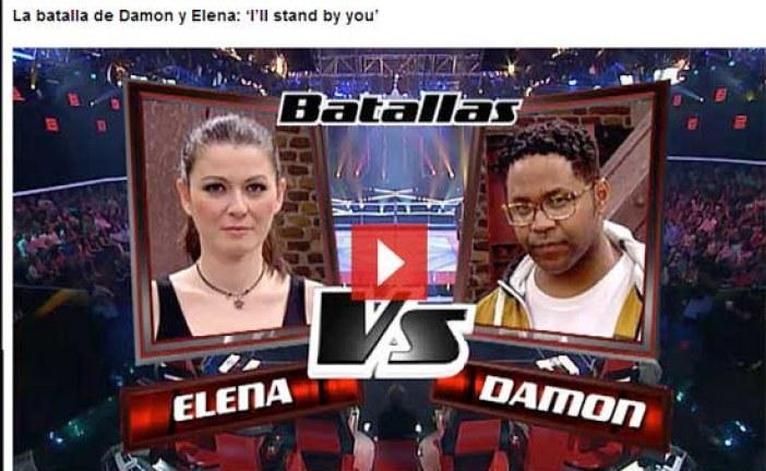 """[RESUMEN GUADIX 2013] NOVIEMBRE: Damon, el enemigo """"más difícil"""" del equipo de Orozco según la web del programa La Voz  @DamonRLaVoz – ¡¡Enhorabuena Damon, tu eres la voz de Guadix!!  #TodosConDamon"""