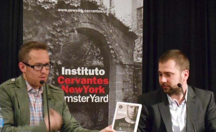 [Vídeo] El accitano Rafa Vega presenta su libro Efecto Maratón en el instituto cervantes de Nueva York
