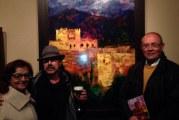 """Socram muestra su particular búsqueda del color Alhambra con la exposición """"La Alhambra miope"""" instalada en la Sala de Exposiciones de la Escuela de Arte"""