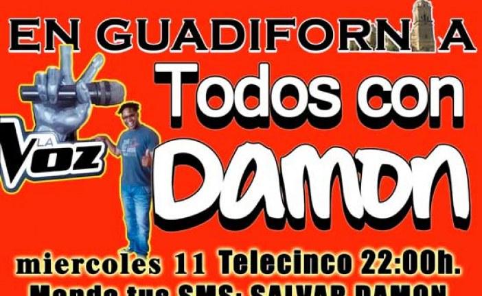 """Mañana Guadix asistirá al Teatro Mira de Amescua para ver en directo la actuación del accitano Damon Robinson en el programa """"La Voz"""" #TodosConDamon"""