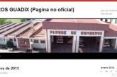 Incendio en Obispo Rincón en el entorno del Pino Córcoles sofocado por los bomberos de Guadix