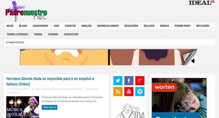 Portal cristiano padrenuestro.net