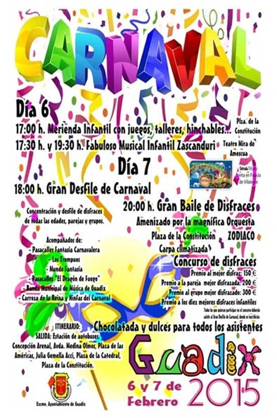 Carnaval Guadix
