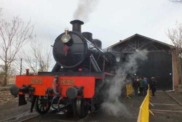 La locomotora de vapor Baldwin-La Guadix podrá ser visitada este domingo de diez a dos en su depósito