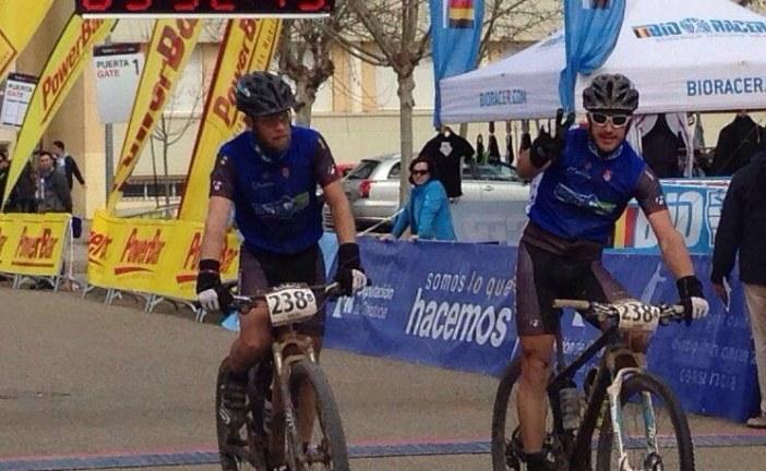 """Rafael Ávila y Leopoldo Pérez del equipo Bicicletas Mipez se encuentran 12º en la durísima prueba """"Andalucía Bike Race"""" [Vídeo]"""