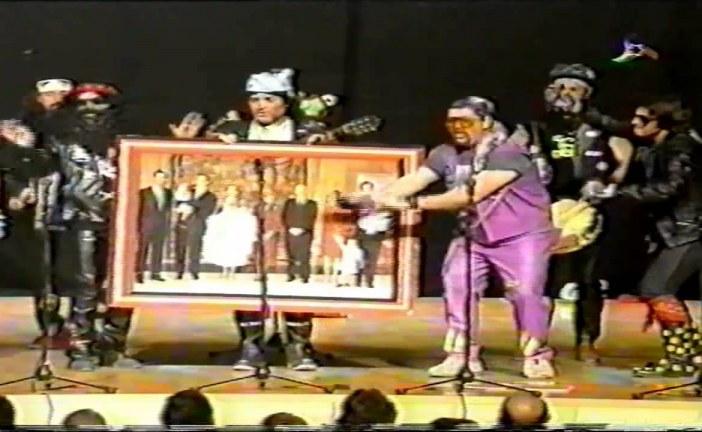 [Vídeos] Chirigota EN CUEROS en el Palacio de Congresos de Granada