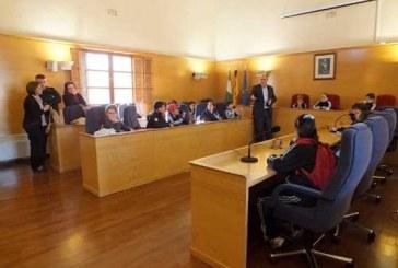 Alumnos de 4º de primaria del colegio La Presentación visitan el Ayuntamiento para conocer su funcionamiento