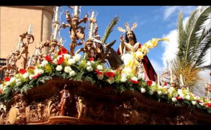 Entrada triunfal de Jesús en Jerusalén – Semana Santa Guadix