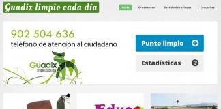 Guadix limpio web