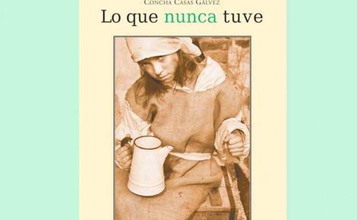 [Vídeo] Hoy Concha Casas presenta en Guadix su nueva novela Lo que nunca tuve