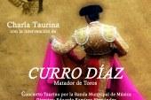 [Vïdeo] Excelente participación en la charla taurina ofrecida por el matador de toros Curro Díaz con el acompañamiento musical de la Banda Municipal de Música de Guadix