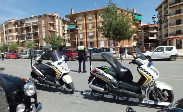 [Vídeo] La Policía Local de Guadix realiza hasta este domingo una campaña especial sobre control de motocicletas y ciclomotores