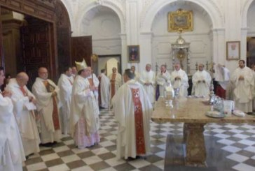 El clero de la Diócesis de Guadix celebra una jornada de convivencia sacerdotal