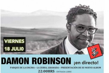 Inminente la salida del nuevo disco de Damon Robinson