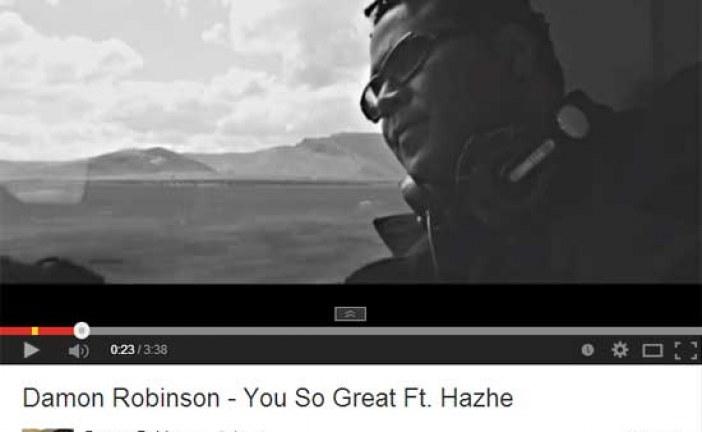 """""""You so great"""" el videoclip de Damon Robinson cerca de las 7.000 reproducciones [Resumen Guadix – Junio 2014]"""