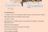 Dos interesantísimas conferencias en la II Semana de Música Sacra los días 2 y 5 de Julio
