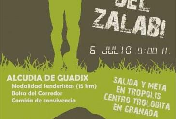 II 20 kilometros Valle del Zalabí – 6 de Julio