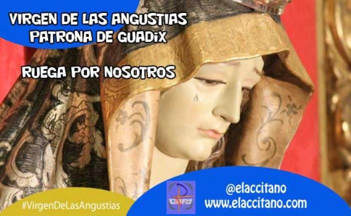 Virgen de las Angustias celebrada la festividad de la patrona de Guadix y Granada [Vídeos]