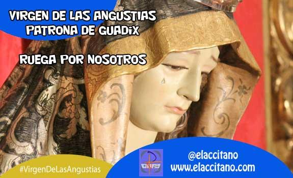 Comienzan los cultos en honor de la Virgen de las Angustias, patrona de Guadix [Vídeo]