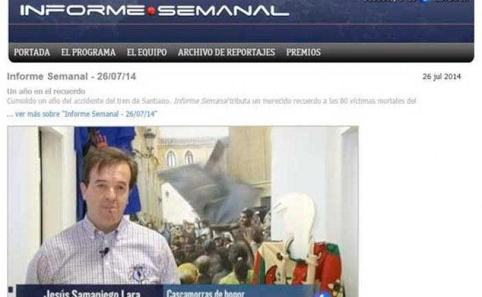 La fiesta del Cascamorras uno de los reportajes del informe semanal de esta semana [Vídeo]