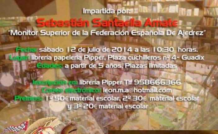 Celebrada la 1ª simultánea de ajedrez en Librería Papelería Pipper [Vídeo]
