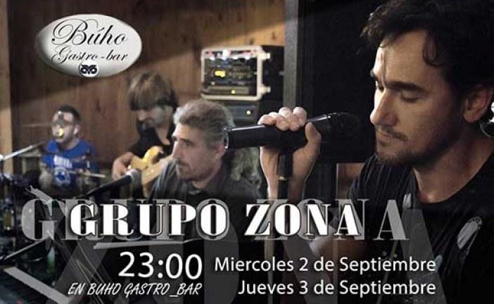 Grupo Zona en Buho Gastro-Bar 3 y 4 de Septiembre [Vídeos]