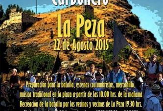 El Alcalde Carbonero 2015 vuelve a la batalla junto a sus vecinos de La Peza [Vídeos]
