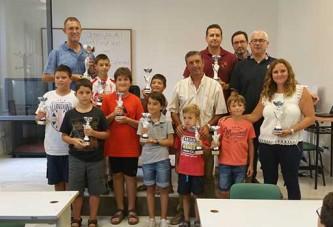 Torneo de ajedrez Feria de Guadix ganador absoluto Joaquín Razola García  [Vídeo]