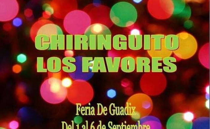 Chiringuito Los Favores en la Feria de Guadix 2014 [Vídeos]