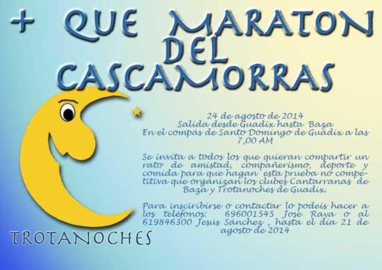 Más que Maratón del Cascamorras