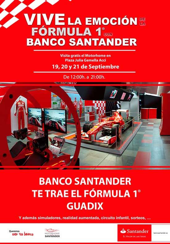 Fórmula 1 en Guadix